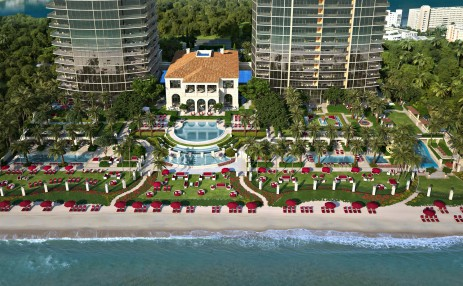 Arial siteplan - Estates at Acqualina