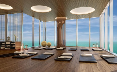 Yoga room - Turnberry Ocean Club
