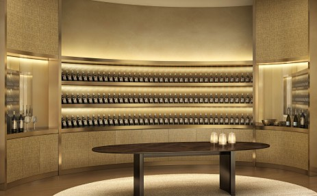 Wine cellar - Armani Residences
