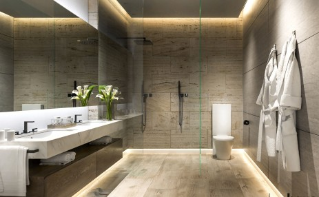 Master Bathroom  - Glasshaus in Grove