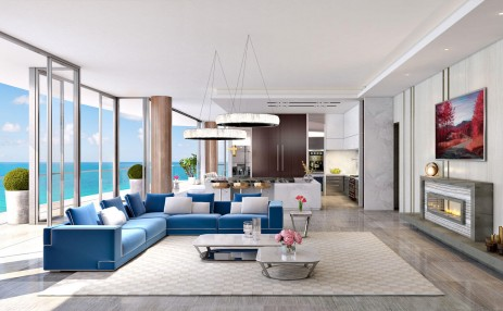 Family Room Milano - Estates at Acqualina