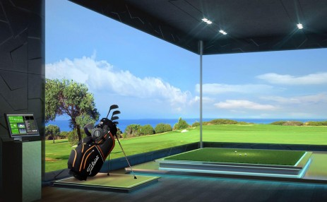 Golf Simulator - Estates at Acqualina