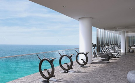 Fitness center- Turnberry Ocean Club