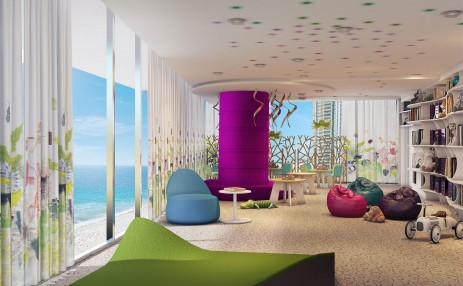 Childrens playroom Turnberry Ocean Club