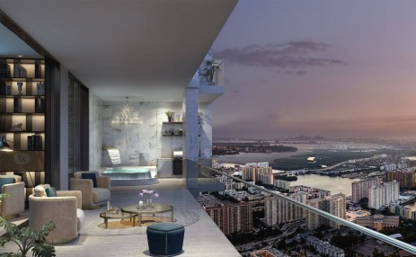 Donatello Balcony - Estates at Acqualina