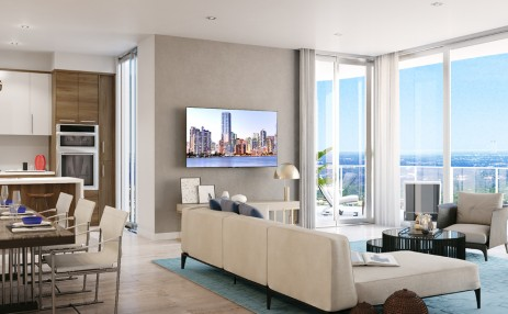Dining and Living - 100 East Las Olas