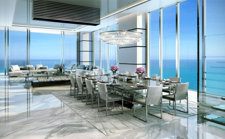 Dinign Room- Turnberry Ocean Club
