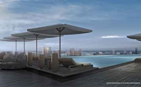 pool view  - Aston Martin Residences