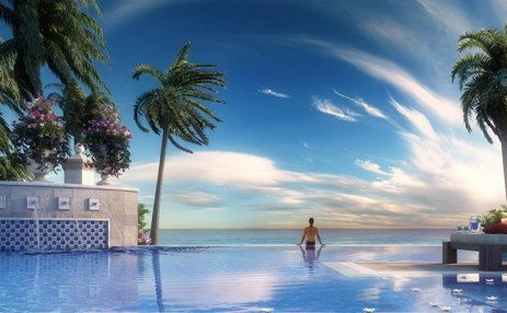 Oceanfront pool  - Estates at Acqualina