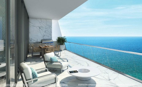 Balcony- Turnberry Ocean Club