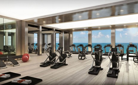 Gym  - Estates at Acqualina