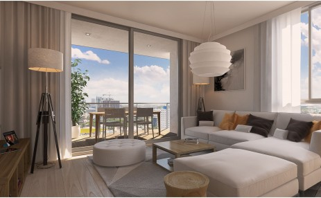 Living Room - Naranza at Edgewater