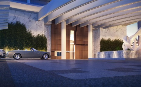 Porte cochere - Turnberry Ocean Club