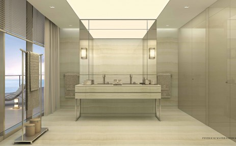 PH Master Bathroom - Armani Residences