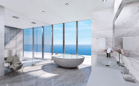 Bathroom- Turnberry Ocean Club