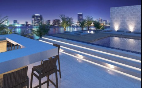 Roof top exterior - Naranza at Edgewater
