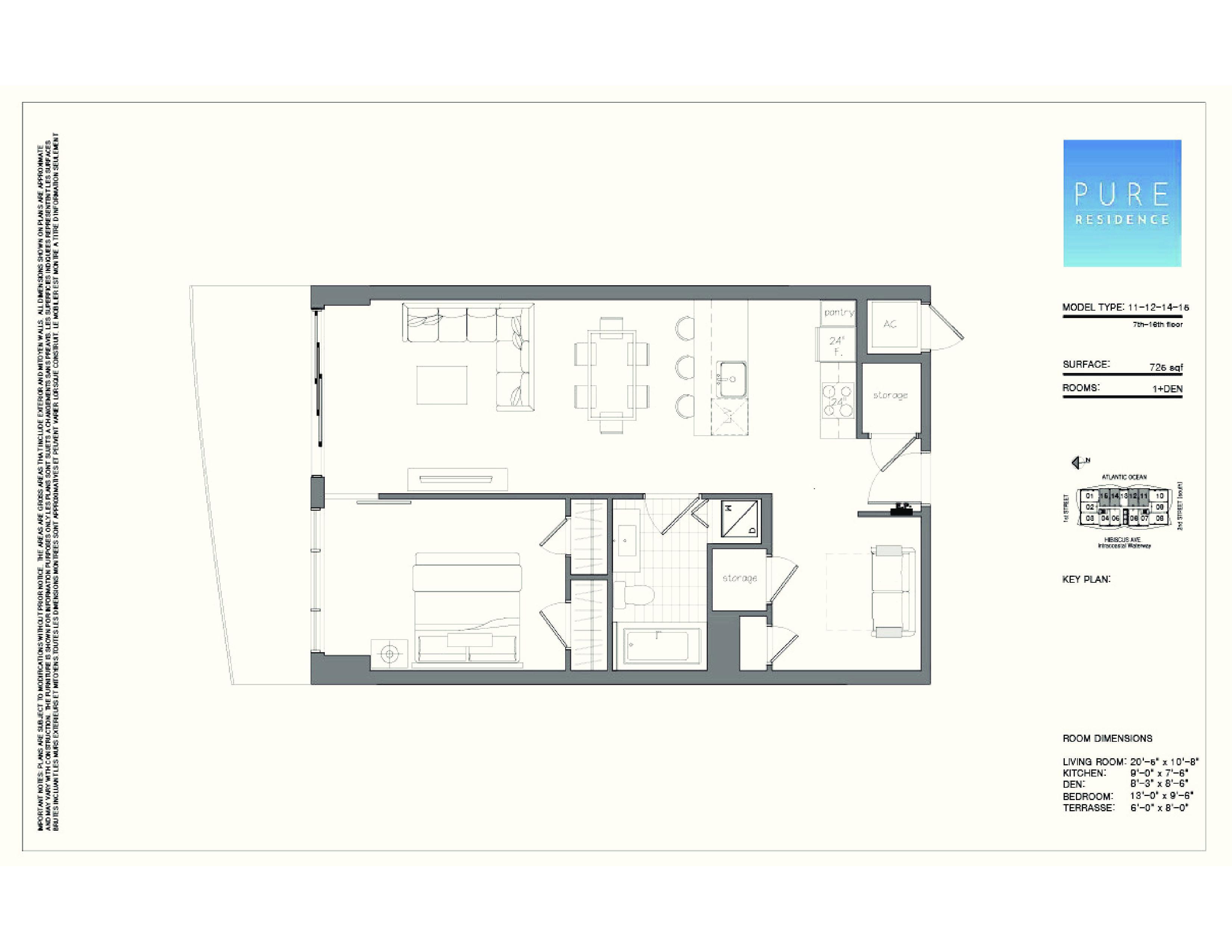 Las Olas Grand Floor Plans Pure Residence Pompano Beach