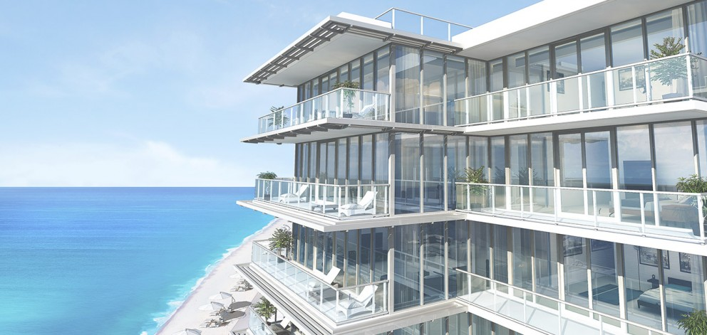 Exterior-Balcony - 3550 South Ocean