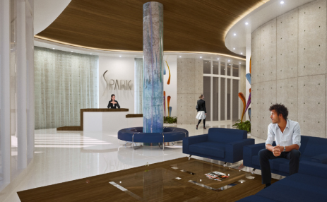 Lobby  - SPARK on Edgewater