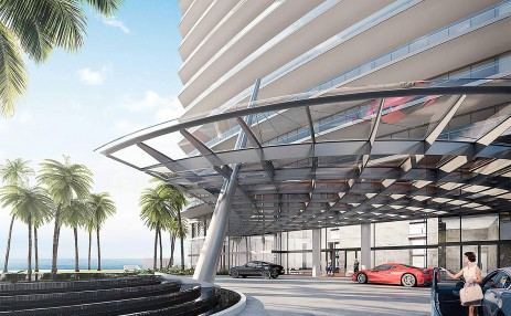 Valet Drop-Off - Armani Residences