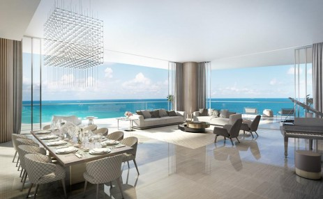 Living Room - Estates at Acqualina