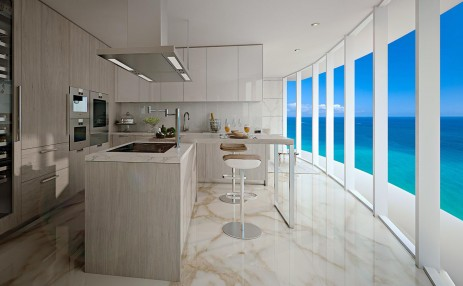 Kitchen - The Ritz-Carlton Residences