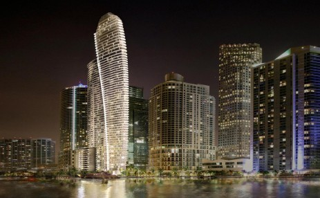 Night view - Aston Martin Residences