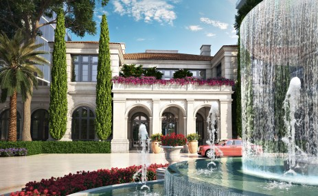 Fountain  - Estates at Acqualina