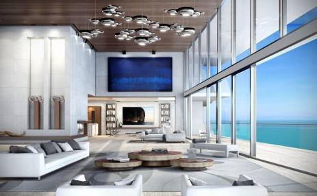 Living space- Turnberry Ocean Club