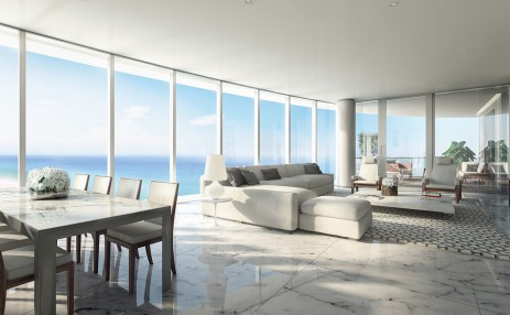 Living area - The Ritz-Carlton Residences