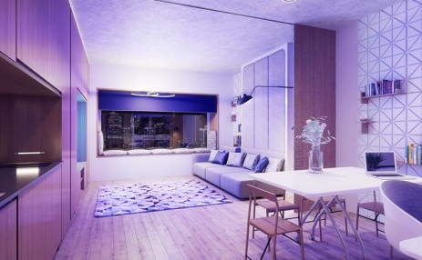 Yotel Living-room