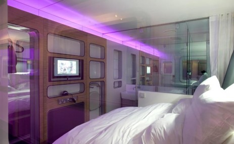 Yotel Bedroom 1