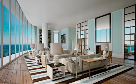 Club room west - The Ritz-Carlton Residences