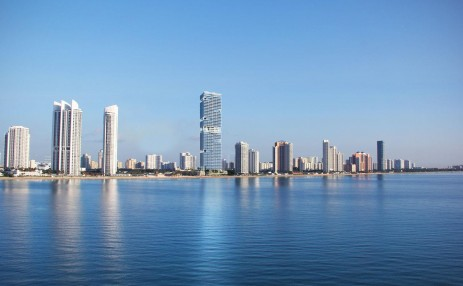 City from the water -  - Turnberry Ocean Club