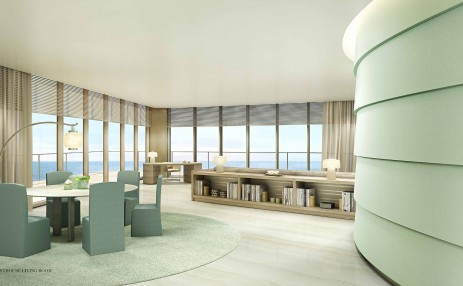PH Living Room - Armani Residences